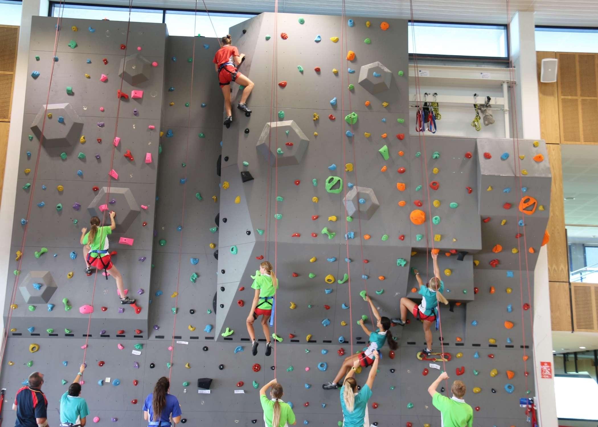 climbing walls, climbing wall installer