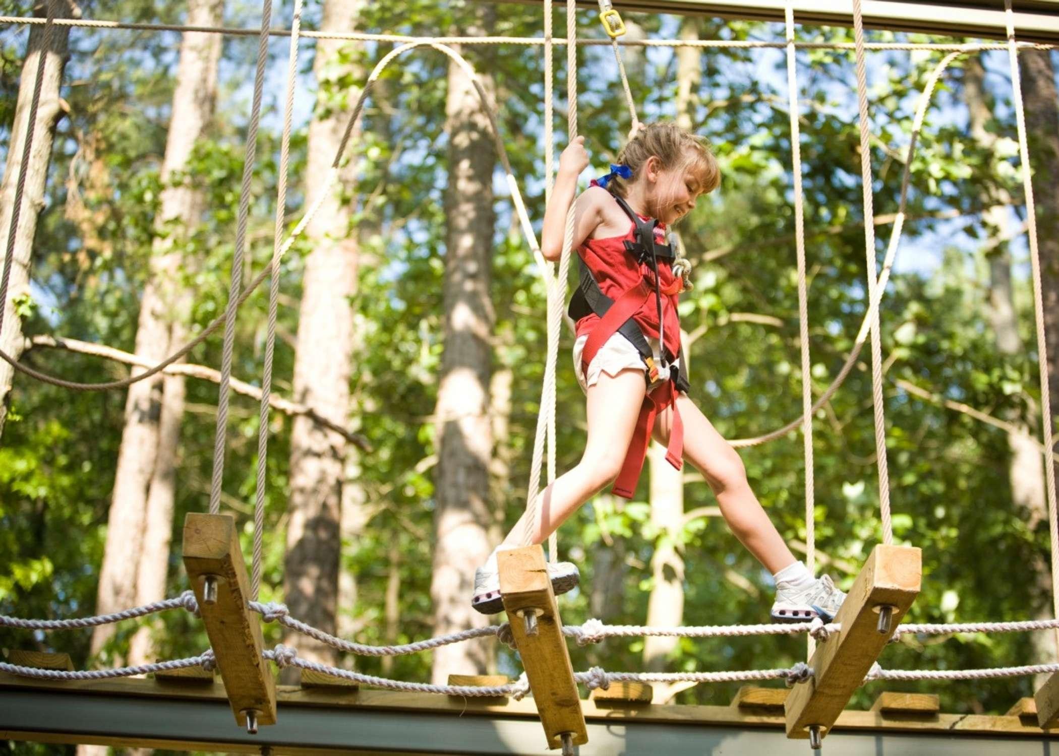 RCI Supplier, High Ropes Course Design