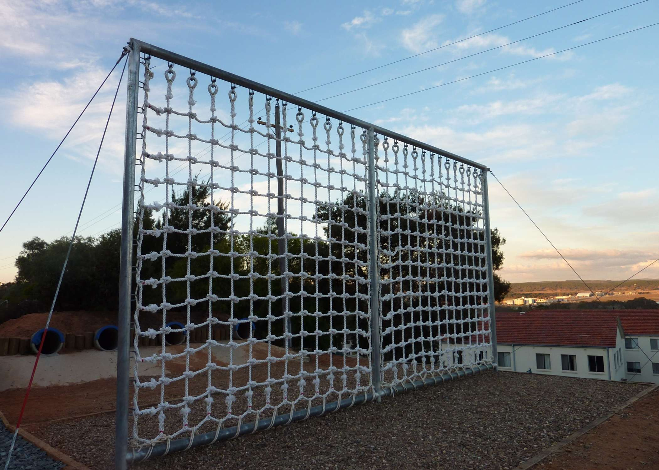 outdoor obstacle course supplier, training equipment