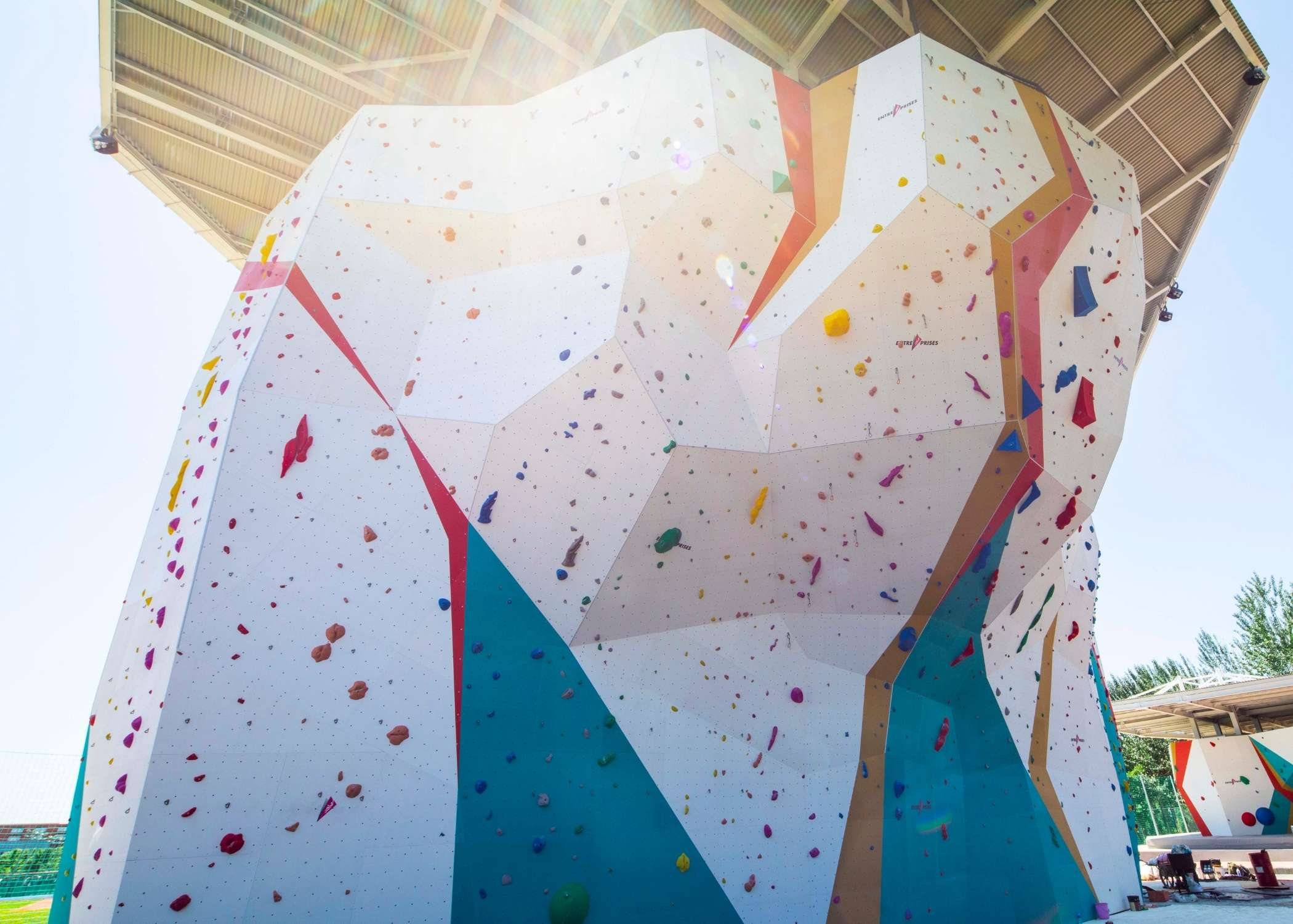 olympic climbing walls, install olympic competition wall